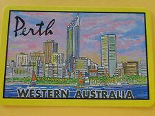 VINTAGE  PERTH  WESTERN  AUSTRALIA,  SWAP PLAYING CARD.