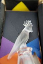 Swarovski Crystal Cockatoo on Thimble  9440 NR 000 005.EXTREMELY RARE