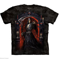 Grim Reaper Scythe Angel Death Skeleton T-Shirt The Mountain You Are Next Tee
