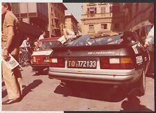 PORSCHE 924 TURBO RALLY DEI RODODENDRI 1979 ORIGINAL PERIOD COLOUR PHOTOGRAPH