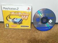 Micro Machines V4 Playstation 2 Collectable Promo Disc Limited Edition Full Game