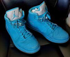 "RARE Men's Nike Air Jordan Sneakers ""2010"" -Orion Blue/Metallic Silver Size 12"