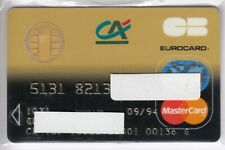 CARTE / CARD BANQUE BANK CREDIT .. ANCIENNE OLD CB PERIMEE CP8 BULL 94 CHIP/PUCE