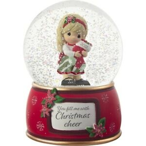 Precious Moments 'You Fill Me With Christmas Cheer' Dated 2021 Snow Globe 211101
