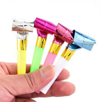Whistle Recorder Toys Blowout Loot Favors Birthday Party Bag Filler Noise Maker@