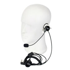 2-Pin Earpiece Mic Finger PTT Headset for Kenwood BAOFENG UV-5R 888s Radios co