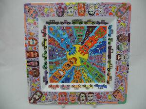 Rosenthal James Rizzi großer Teller Schale 30 x 30 cm Art Collection Nr. 1