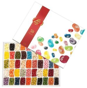 Jelly Belly 50 Individual Flavours 600g Gift Box American Jelly Beans Candy