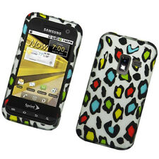 MetroPCS Samsung Galaxy Attain 4G R920 HARD Case Phone Cover Colorful Leopard
