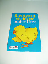 "Vintage ladybird book  ""Farmyard Stories for Under Fives"" 1998."