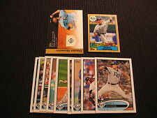 2012 TOPPS UPDATE TAMPA BAY RAYS SP MASTER TEAM SET 11 CARDS  MATT MOORE +