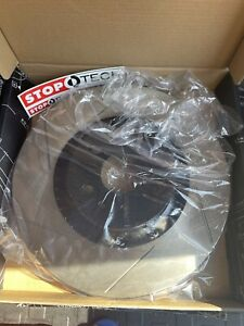 2012-2015 Chevrolet Camaro ZL1 Stoptech Slotted Rotors & Stoptech Street Pads