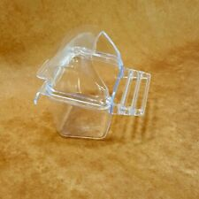 Hooded Bird Cage Dish with Perch Replacement Cup 1219 by Prevue Small Parrots