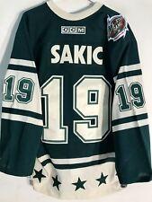 Reebok Authentic NHL Jersey Colorado Avalanche Sakic Green AllSt sz 46