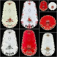 Small Christmas Table Runners Tablecloths for Dining & Coffee Table Xmas New
