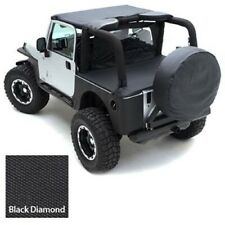 Smittybilt 761235 Tonneau Cover Black Diamond For 07-15 Jeep JK Wrangler 2-Door