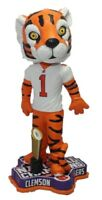 The Tiger Clemson Tigers 2016 Football National Champions Bobblehead NCAA