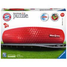 RAVENSBURGER 3D Puzzle Allianz Arena FC Bayern Erwachsenenpuzzle 216 Teile