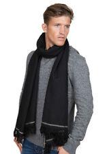 Écharpes noirs pour homme en 100% laine