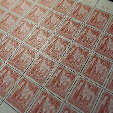 FEUILLE SHEET BOGEN ALLEMAGNE BERLIN N°94 x50 1953 NEUF ** LUXE MNH COTE 225€
