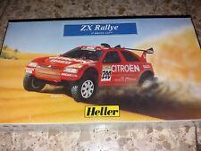 Heller Plastic Model Kit: Citroen ZX Rally Car. 1:43 Scale COMPLETE