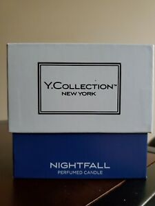 Yankee Candle Nightfall Y Collection New York 7oz Boxed Jar Candle