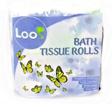 Toilet Paper Rapid-Dissolving 48 Rolls Biodegradable Fsc 3-Ply Household