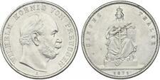 PREUSSEN - Wilhelm I. (1861 -1888) Siegestaler 1871 A Silber [D-49]