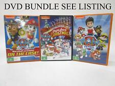 DVD MOVIE BUNDLE x 5 - NICKELODEON - PAW PATROL RRP$50