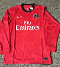 Nike PSG Soccer Jersey Away 2012 Season Player Issue Size L NWT Paris France