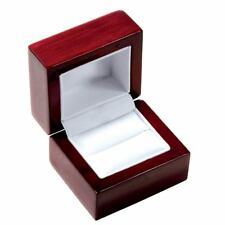 Rosewood Ring Box for engagement -LOWEST price on Ebay High Quality- USA Selller