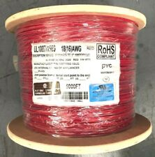 5000' UL1007/1569 - 16/30 18(16)AWG 300V 105C TC RED Hook Up Wire