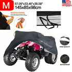 Universal ATV Cover Waterproof UV Rain Dust Resistant All Weather Protection M