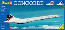 Revell of Germany 1:144 Concorde Britsh Air Plastic Model Kit 0427 RVL04257