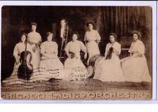 Music Postcard - Chicago Ladies Orchestra - Musician