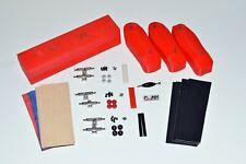 Old School Fingerboard Complete Mold Kit, Graphic Veneer, Trucks, Wheels +Extras