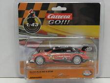 Carrera 64090 GO Slot Car Teufel Audi RS5 DTM Maßstab 1:43