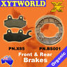 FRONT REAR Brake Pads Shoes KYMCO Like 50 LX 4T 2010 2011 2012 2013 2014 2015