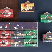 5 PCS Dekorative Vintage Washi Band Set Japanischen Papier Scrapbooking Bes B2M6