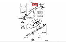 2004-2008 MITSUBISHI LANCER DOOR DRIP WEATHERSTRIP MOLDING CLIP OEM 7403A020