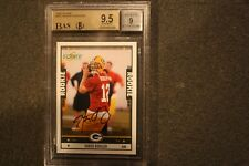 2005 Score #352 Aaron Rodgers Packers RC Rookie Signed AUTO BGS 9.5 BAS