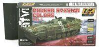 AK Interactive AK4130 Modern Russian Colors Vol 1 (AFV Series) Acrylic Paint Set