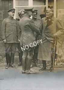Foto WK I Gottlieb von Haeseler Generalfeldmarschall - Pour le Mérite E1.81