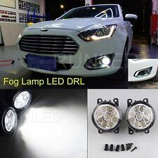 LED Fog Lights Front Bumper DRL Lamp For Ford Fiesta Focus MK7 MK8 Transit C-MAX