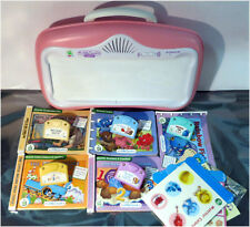 Leap Frog baby Little Touch LeapPad Learning Game System w/ 5 Games & Books Pink