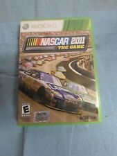 NASCAR 2011 The Game for X-Box 360