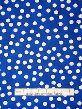 Christmas Fabric - Holiday String of Lights Blue #15266 Kaufman Jingle - Yard