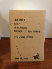 Hot Toys 1/6 Iron Man 2 Mark 6 MK VI Exclusive Special Editon MMS132 SEALED