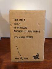 Hot Toys 1/6 Iron Man 2 Mark 6 MK VI Exclusive Special Editon MMS132 SEALED