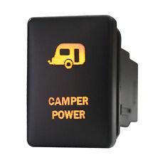 Push switch 965O 12V CAMPER POWER Toyota Tacoma Tundra LED amber on off 3A